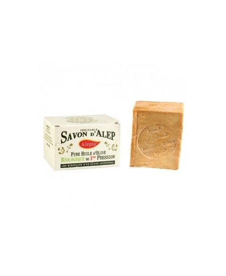 Alepia - Savon d'Alep excellence pure Olive - 190 gr
