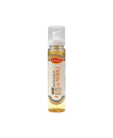 Alepia - Huile d'Argan Bio à la Fleur d'Oranger (Néroli) - 100 ml
