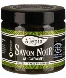 Alepia - Savon Noir Premium Bio Caramel - 250 ml