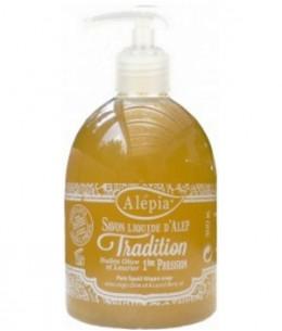 Alepia - Savon liquide d'Alep tradition - 300 gr