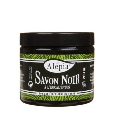 Alepia - Savon Noir à l'Eucalyptus - 250 ml