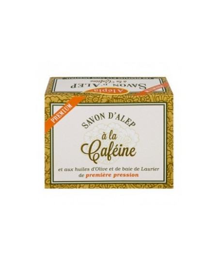 Alepia - Savon d'alep premium Cafeine - 125 gr