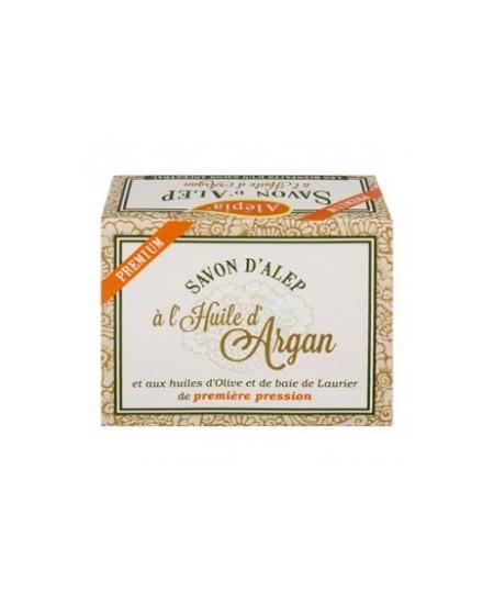 Alepia - Savon d'alep premium Huile d'argan - 125 gr
