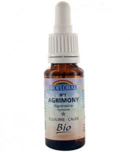 Biofloral - Elixir Agrimony n° 1 Aigremoine - 20 ml