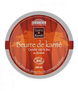 Biofloral - Beurre de Karité au Baobab - 200 ml