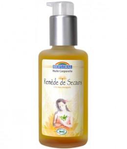 Biofloral - Huile corporelle Remède de Secours Silice et Fleurs de Bach - 100 ml