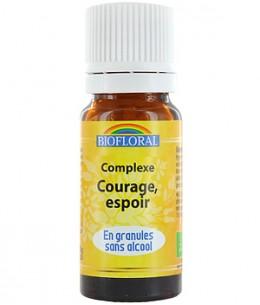 Biofloral - Complexe floral n°4 Courage Espoir en granules sans alcool - 10 gr