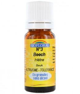 Biofloral - Elixir Beech n°3 Hêtre en granules - 10 gr