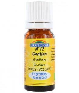 Biofloral - Elixir Gentian n°12 Gentiane en granules - 10 gr