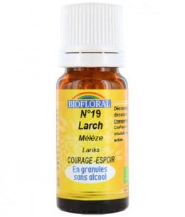 Biofloral - Elixir Larch n°19 Mélèze en granules - 10 gr