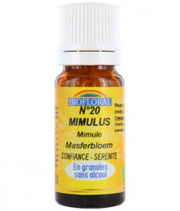 Biofloral - Elixir Mimulus n°20 Mimule en granules - 10 gr