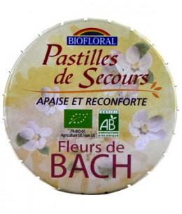 Biofloral - Pastilles remède de secours sans alcool boite familiale - 50 gr