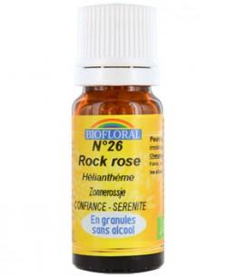 Biofloral - Elixir Rock Rose n°26 Hélianthème en granules - 10 gr