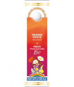 Biofloral - Perles d'huile essentielle d'Orange douce - 20 ml