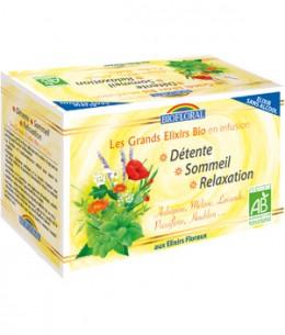 Biofloral - Infusion Elixir Détente Sommeil Relaxation - 20 sachets