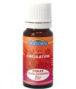Biofloral - Perles d'huiles Essentielles Circulation - 20 ml