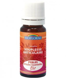 Biofloral - Perles d'huiles Essentielles Souplesse Articulaire - 20 ml