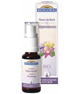 Biofloral - Complexe floral n°1 Dépendance en spray - 20 ml
