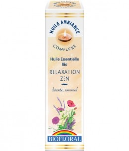 Biofloral - Huile d'ambiance Relaxation Zen - 10 ml