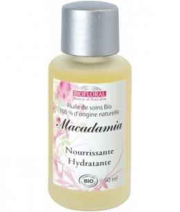 Biofloral - Huile végétale Bio de Macadamia - 50 ml
