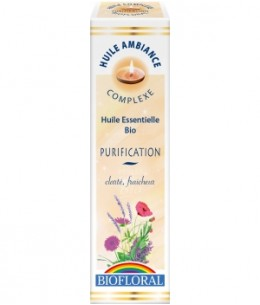 Biofloral - Huile d'ambiance Purification - 10 ml