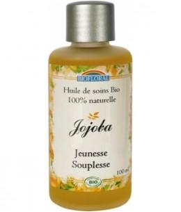 Biofloral - Huile végétale Bio de Jojoba - 100 ml