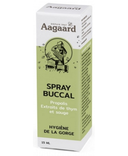 Aagaard - Spray buccal à la propolis - 15 ml