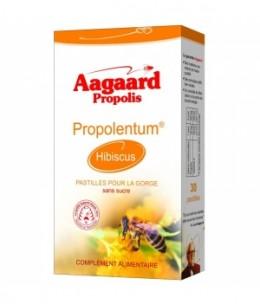 Aagaard - Propolentum Hibiscus - 30 pastilles