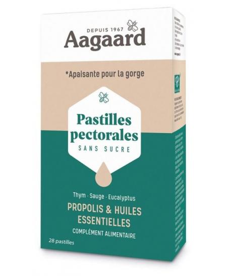 Aagaard - Pastilles Pectorales Apais'Toux - 30 pastilles