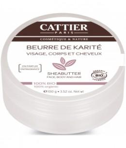 Cattier - Beurre de karité - 100 gr