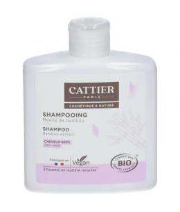 Cattier - Shampoing à la moëlle de bambou cheveux secs - 250 ml