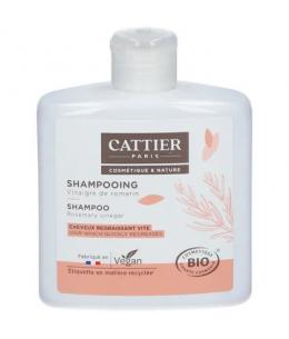 Cattier - Shampoing au vinaigre de romarin cheveux gras - 250 ml