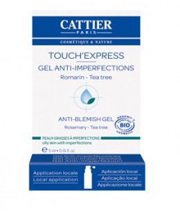 Cattier - Touch'Express concentré Actif gel anti imperfections - 5 ml