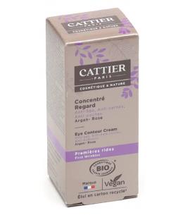 Cattier - Eclat de Rose Concentré regard Argan Hamamélis - 15 ml