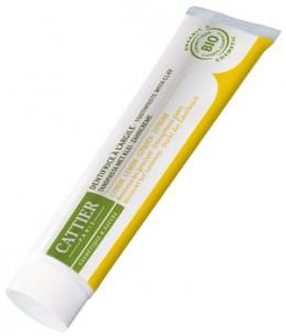 Cattier - Dentifrice Dentargile reminéralisant au Citron gencives irritées - 75 ml