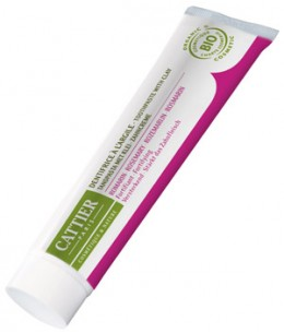 Cattier - Dentifrice Dentargile reminéralisant au Romarin Anti âge et fortifiant - 75 ml