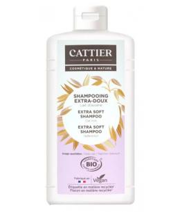 Cattier - Shampoing extra doux Protéines de Blé - 1 L