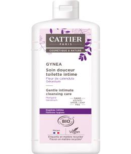 Cattier - Soin douceur Gynéa Fleur de Calendula Géranium - 500 ml