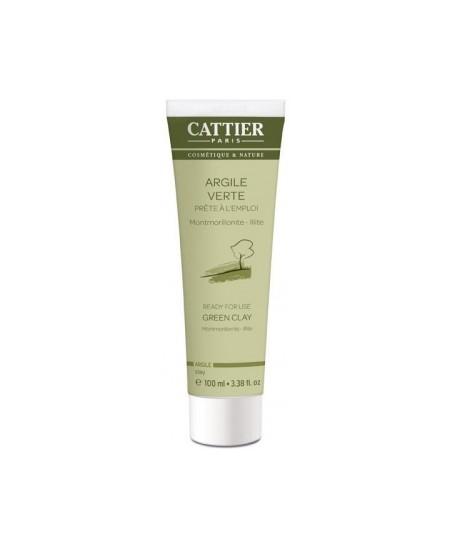 Cattier - Argile verte Montmorillonite Prête à l'Emploi - 100 ml