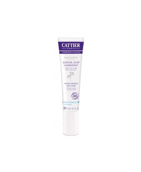 Cattier - Elixir végétal Soin de jour hydratant - 15 ml
