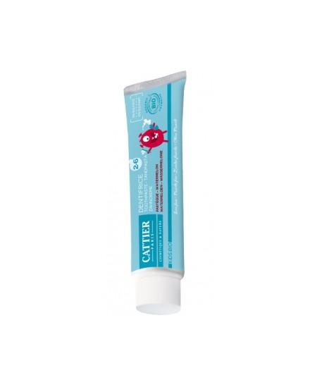 Cattier - Dentifrice enfants 2 à 6 ans goût pastèque - 50 ml