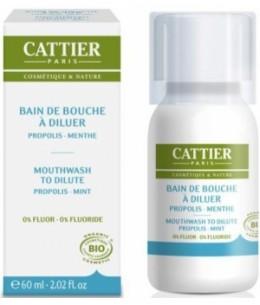 Cattier - Bain de bouche propolis / menthe - 60 ml