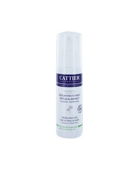 Cattier - Sérum matifiant rééquilibrant Soie lactée - 30 ml
