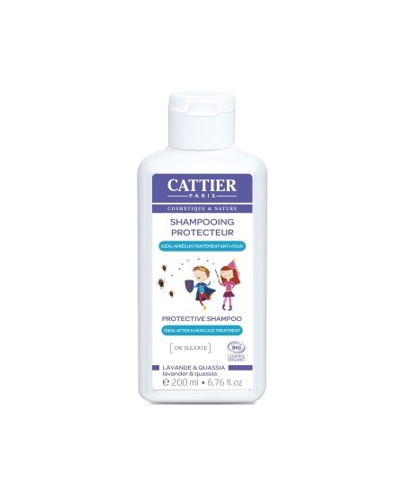 Cattier - Shampoing Protecteur Anti Poux - 200 ml