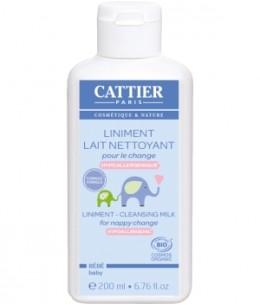 Cattier - Liniment Lait nettoyant pour le change - 200 ml