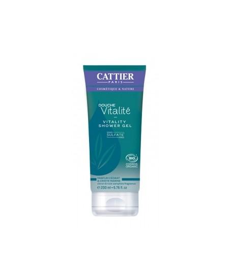 Cattier - Gel douche Vitalité sans sulfate - 200 ml