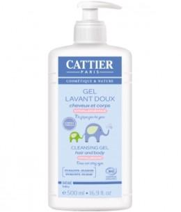 Cattier - Gel lavant doux bébé - 500 ml