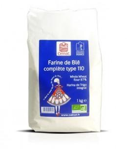 Celnat - Farine de Blé complète Type 110 - 1 kg
