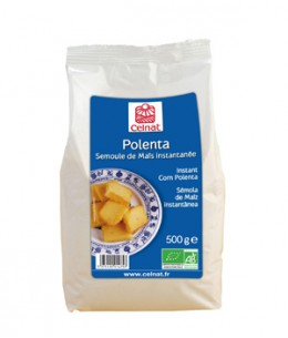 Celnat - Polenta Semoule de Maïs instantanée - 500 gr