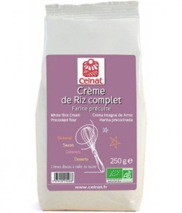 Celnat - Crème de riz complet - 250 gr
